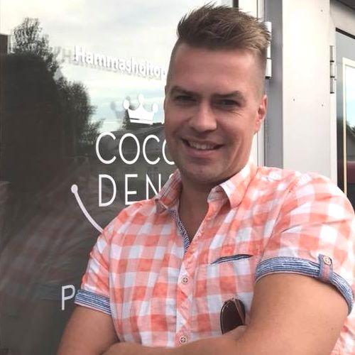 Aki Metsälä luottaa suunhoitonsa ja suuhygienian osaaviin käsiin Jyväskylässä sijaitsevalle hammashoitola Cocodensille.